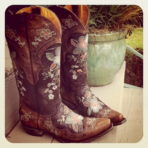 How cowgirl boots have led my heart home (I'm not even kidding)   ...