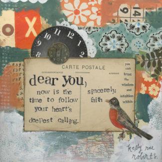 Sincerely Faith – Kelly Rae Roberts