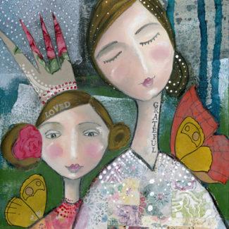 Loved + Grateful - Kelly Rae Roberts