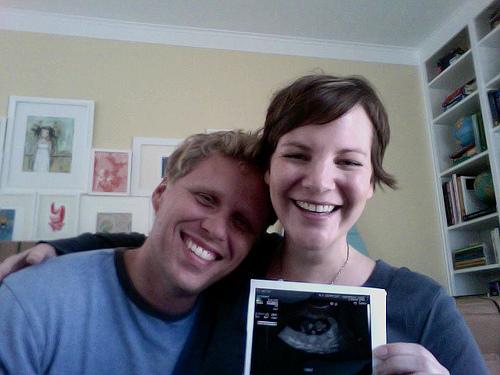 it's true. we're pregnant!