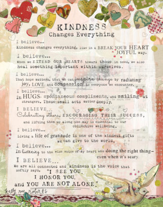 Kindness Changes Everything manifesto low res