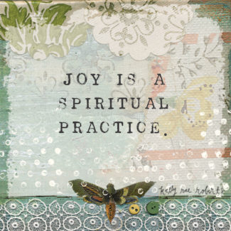 joy is a spiritual practice low res