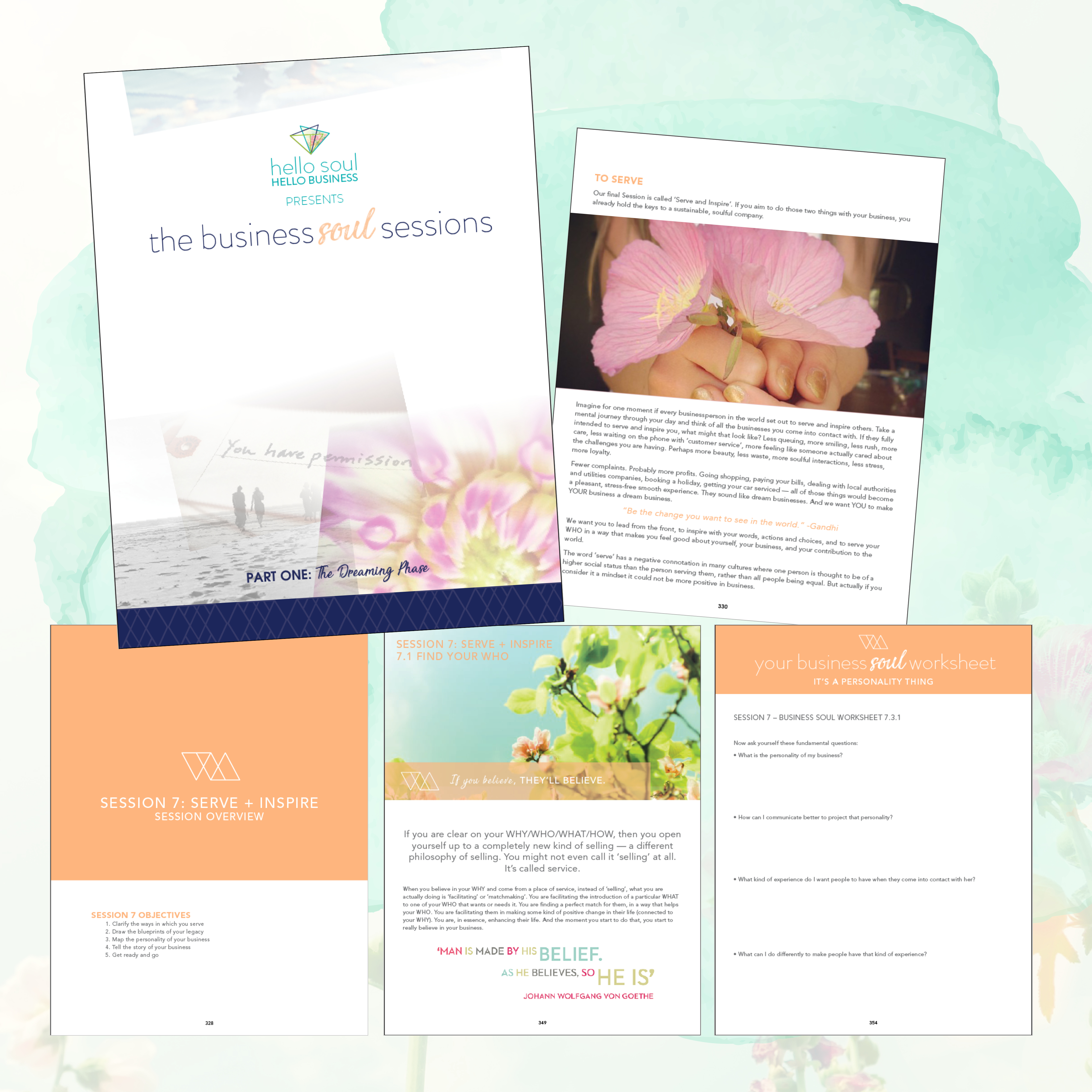 Hello soul hello business a sisterhood for soul driven the business soul sessons ebook is split into two distinct sections dreaming and doing fandeluxe PDF