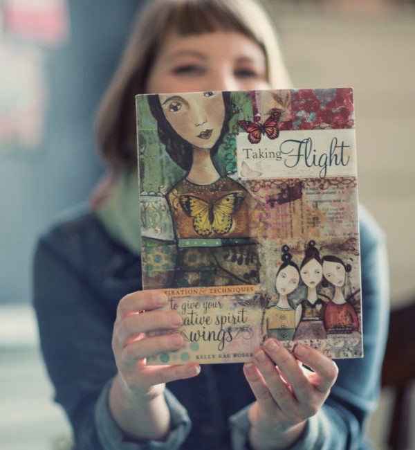 My book! Taking Flight: Inspiration to give your creative spirit wings.