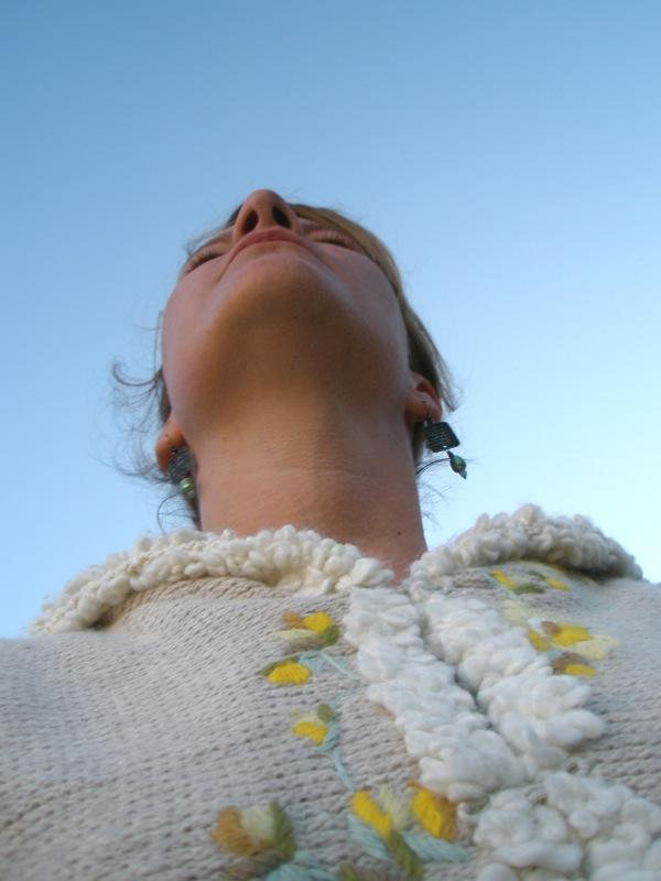self portrait challenge :: blue
