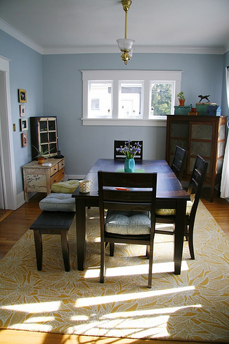 dining room tour, january blessings, and cha
