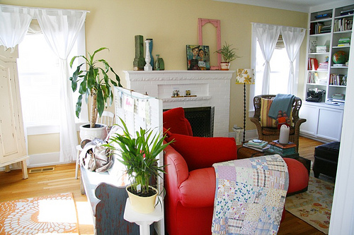 living room tour…(it's a long one)