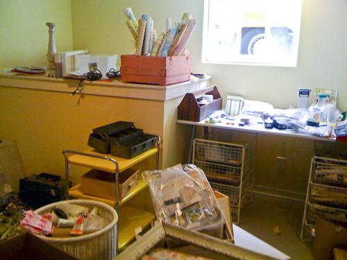 studio unpacking in progress. yikes!