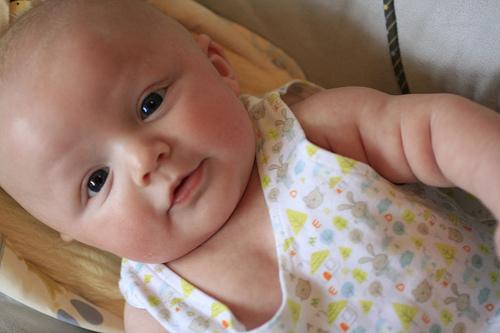 3.5 months old – baby true photos!