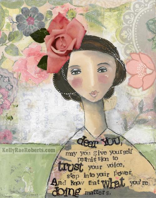 dear me. dear you. and how distraction = creative play