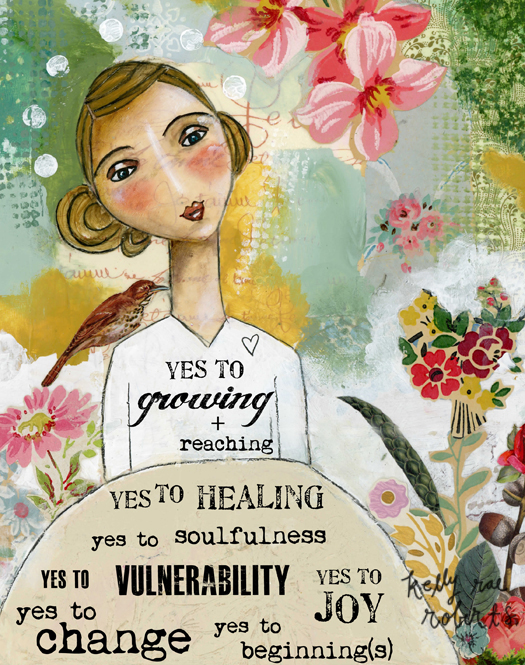 Yes to Growing. Yes to healing.