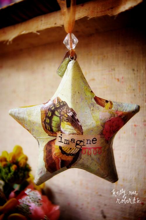 Shipping Imagine Star Ornament By Kelly Rae Roberts Free U.S