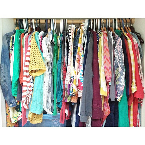 What's in my closet: COLOR