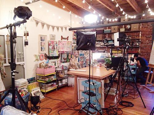 e-course filming sneak peek!