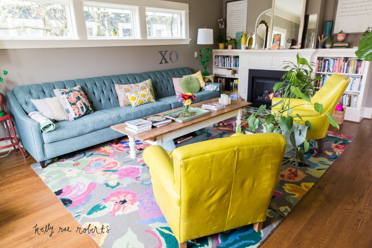 House Tour: Our Living Room