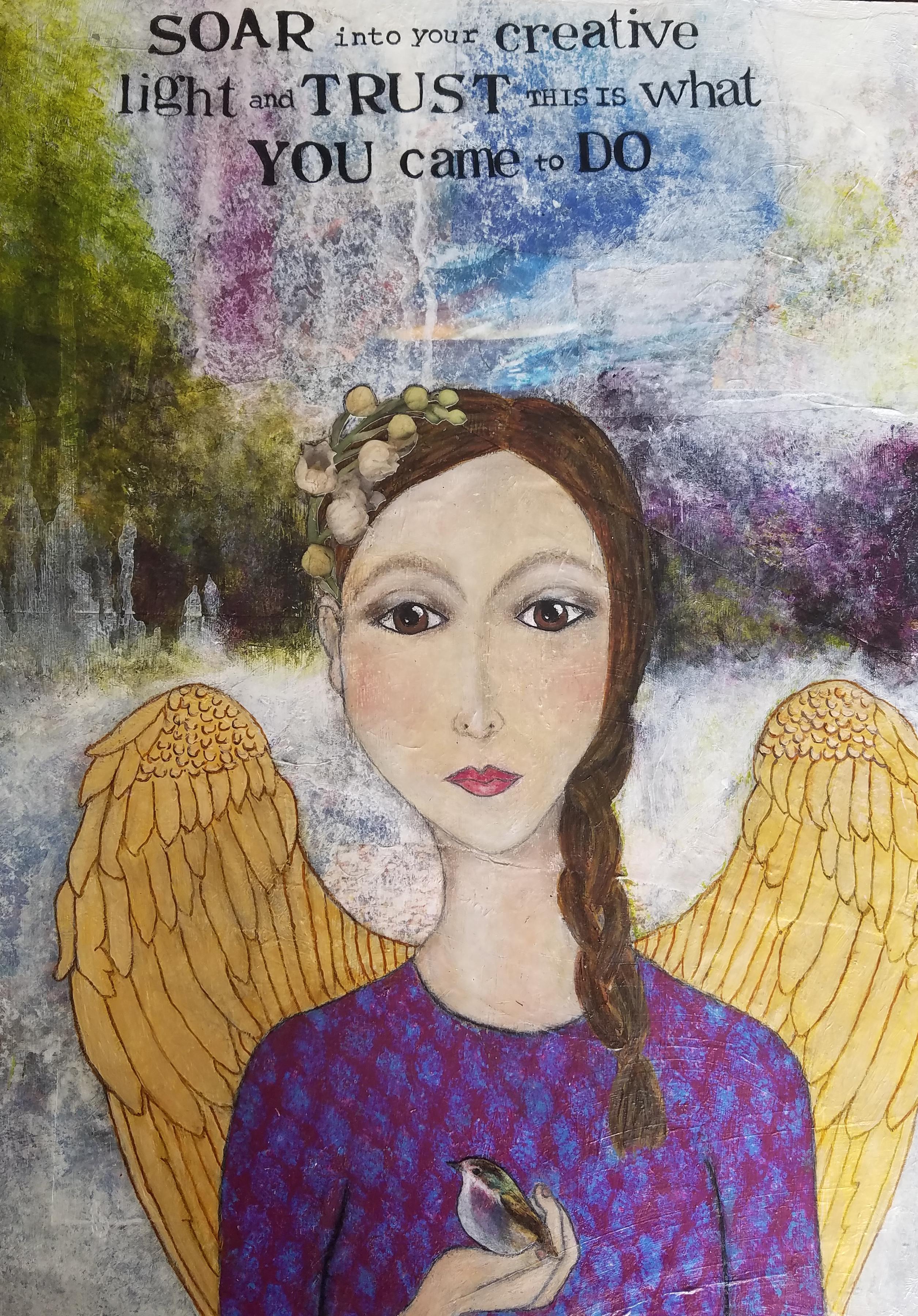 Testimonial Spirit Wings Diana Stell