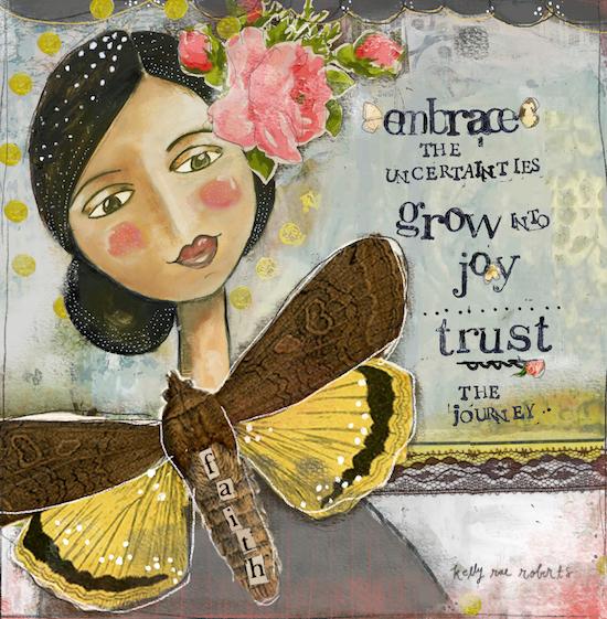 Wear Your Joy and Grow Into Joy (joy is all around)