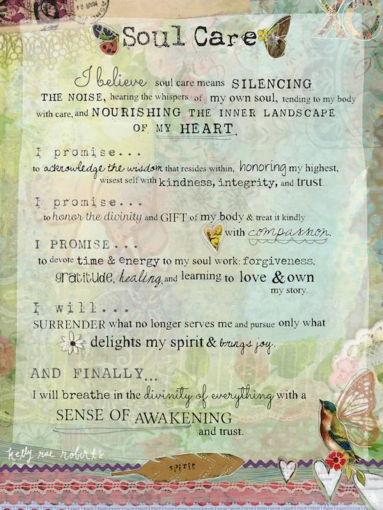 Soul Care Manifesto