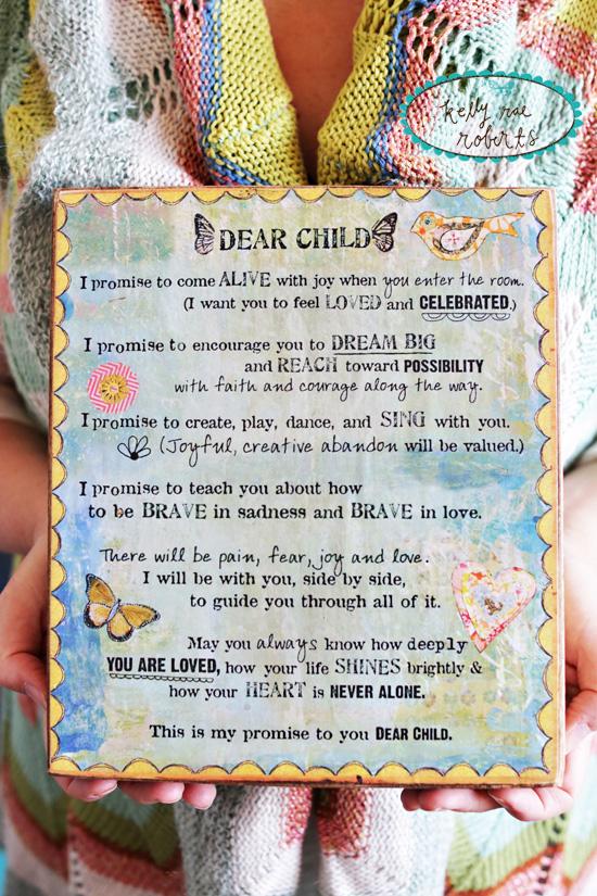KRR dear child manifesto