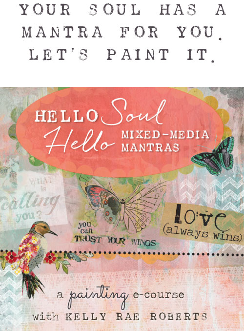 Your Soul Has A Mantra For You. Let's Paint It