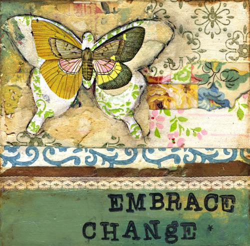 EMBRACE CHANGE II - Print - Kelly Rae Roberts - prints - Mantras