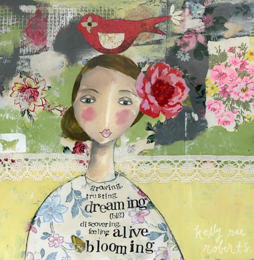 Blooming - Kelly Rae Roberts