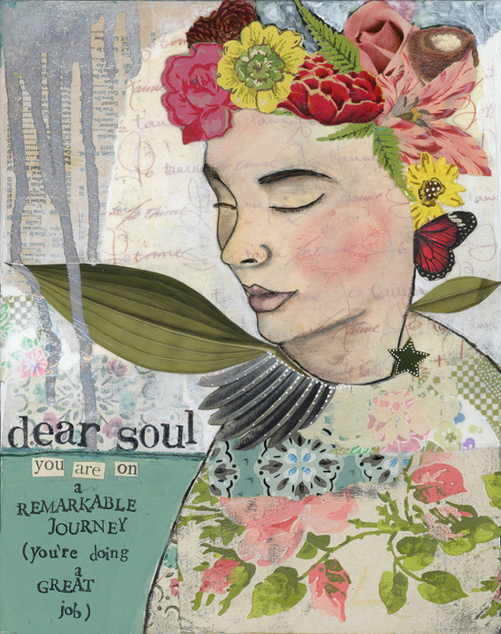 Dear Soul - Kelly Rae Roberts - prints - Girls