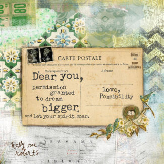Love, Possibility – Kelly Rae Roberts