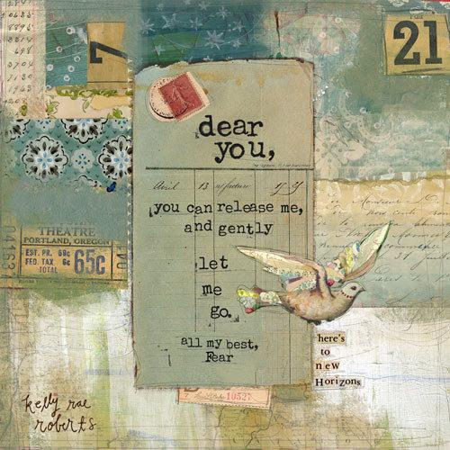 All My Best, Fear – Kelly Rae Roberts