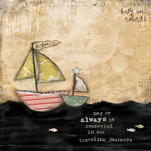 Traveling Journeys - Kelly Rae Roberts