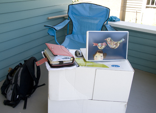 portable office