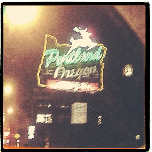 Always loved this iconic Portland Oregon sign