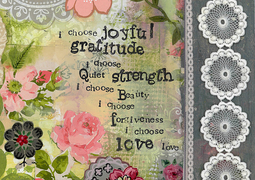 i choose joyful gratitude