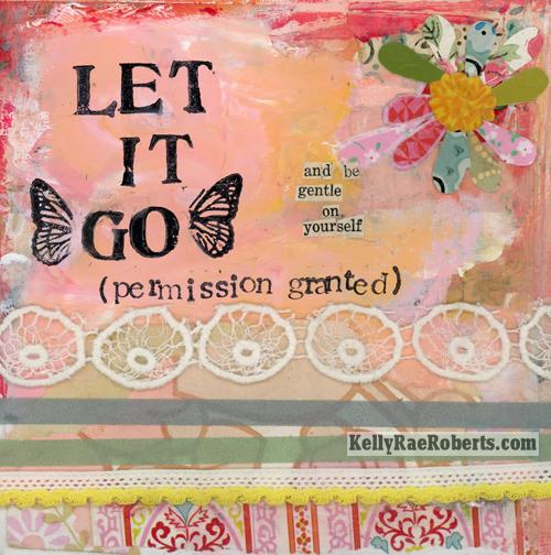 let it go - permission granted