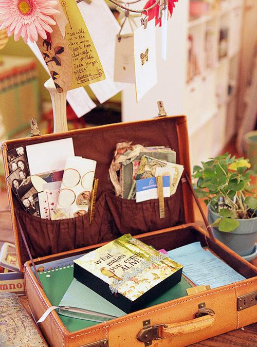 How Cute Is That: Desktop Suitcase