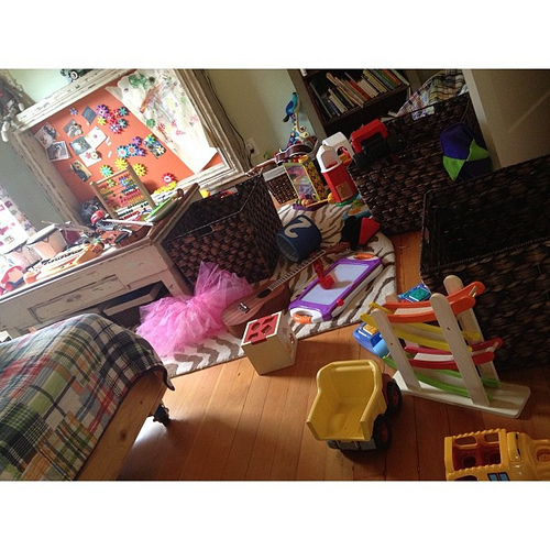 Operation True's room reorganization. This is the before.