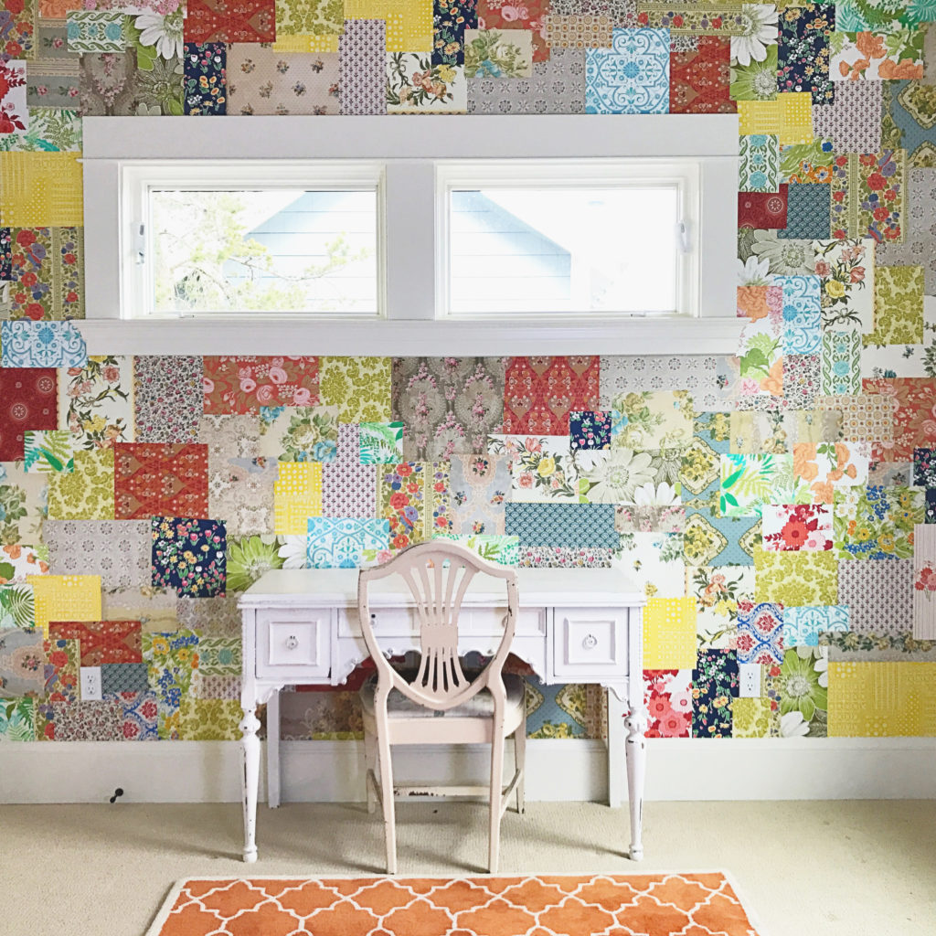 Create A Patchwork Feature Wall