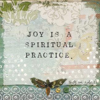 joy is a spiritual practice low res