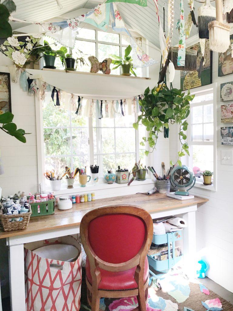 Kelly Rae gets a tiny art house, part 2! - Kelly Rae Roberts