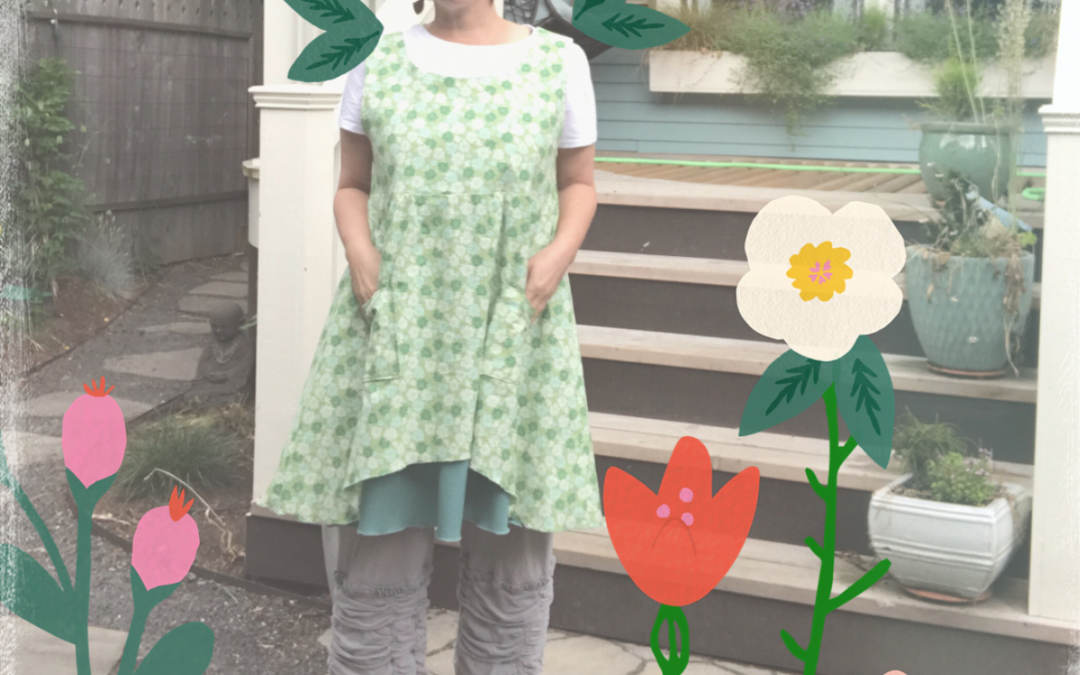 Still LOVING this pattern from Sew Liberated! Check it out!