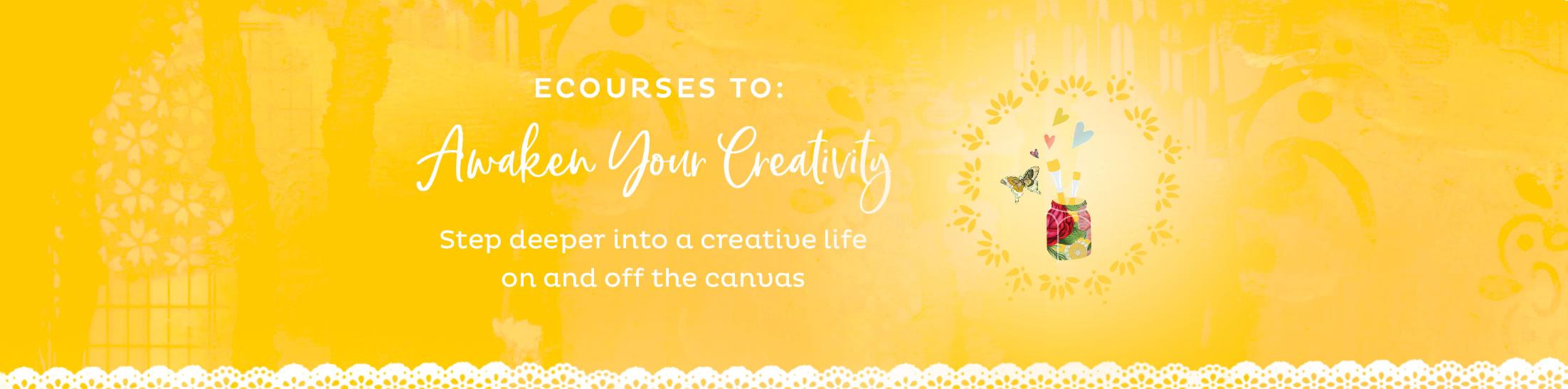 eCourses to Awaken Your Creativity