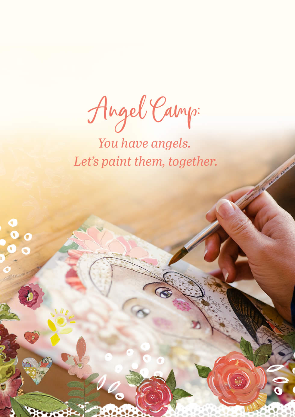 Angel Camp: You have angels. Let's paint them, together.