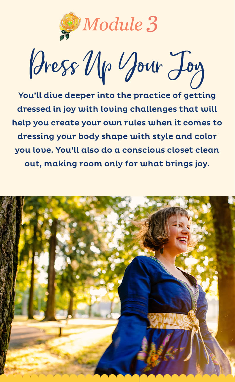 Week 3 : Dress Up Your Joy