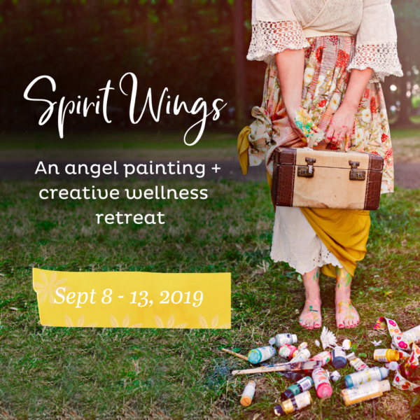 Announcing my last painting and creative wellness retreat of the year. Who's in?