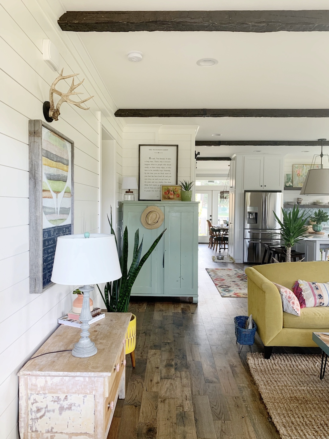 Astounding A Tour Of Our Living Room Hello Colorful Farmhouse Cjindustries Chair Design For Home Cjindustriesco