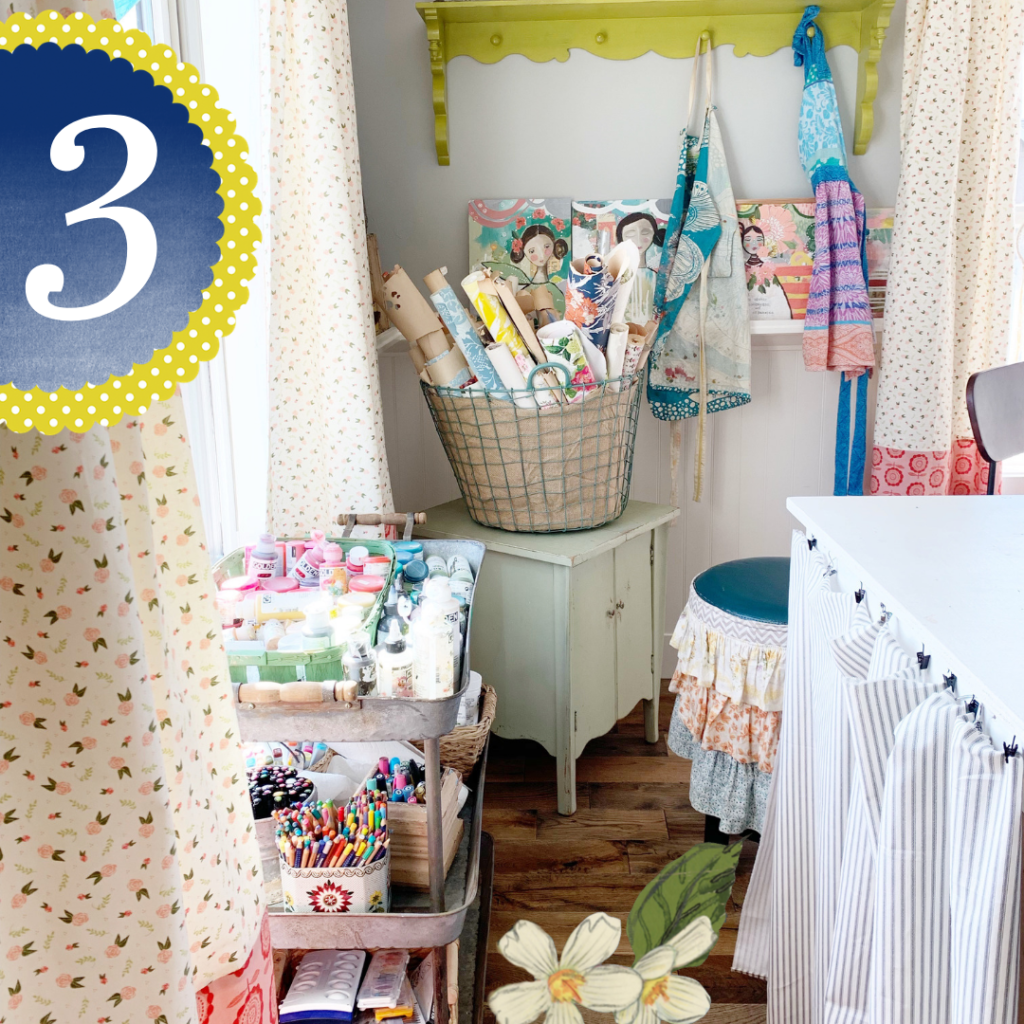 Three days left, y'all! Here's a peek at my new studio, too.