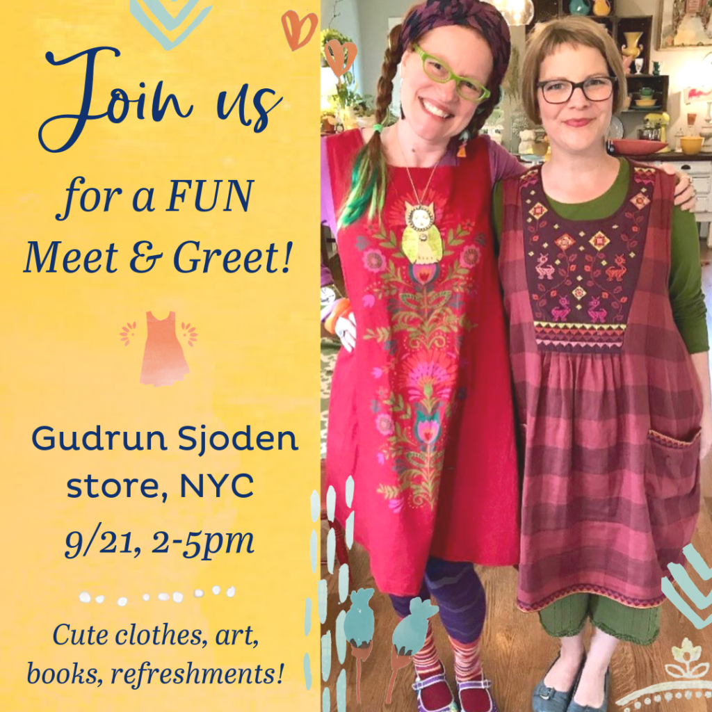 NYC Meet + Greet at The Gudrun Sjoden Store on 9/21. Who wants to come?
