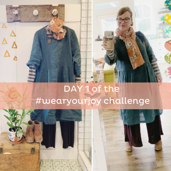 It's day 1 of our 7 day #WEARYOURJOY challenge!