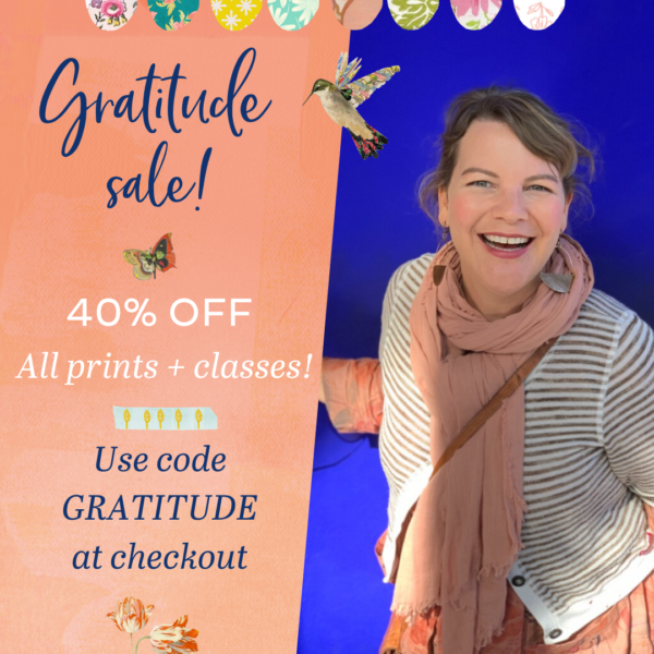 40% off Gratitude Sale! Hurry, ends soon!