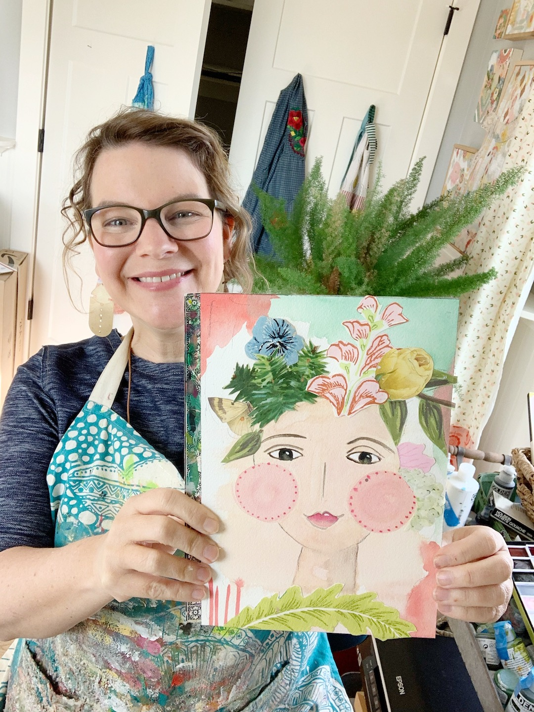 February's Art Date With Kelly Rae Is Here!